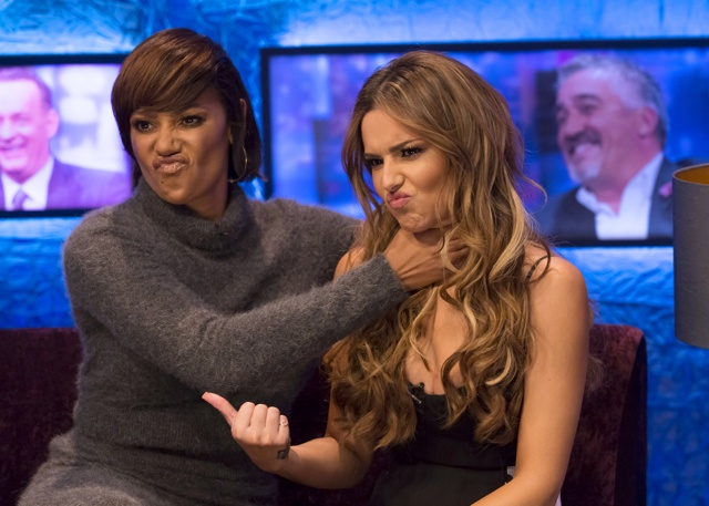 Cheryl and Mel B on Jonathan Ross