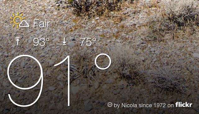 Yahoo updates its weather app