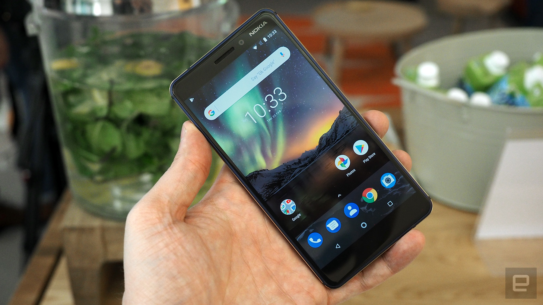photo image The upgraded Nokia 6 is available for purchase in the US and UK