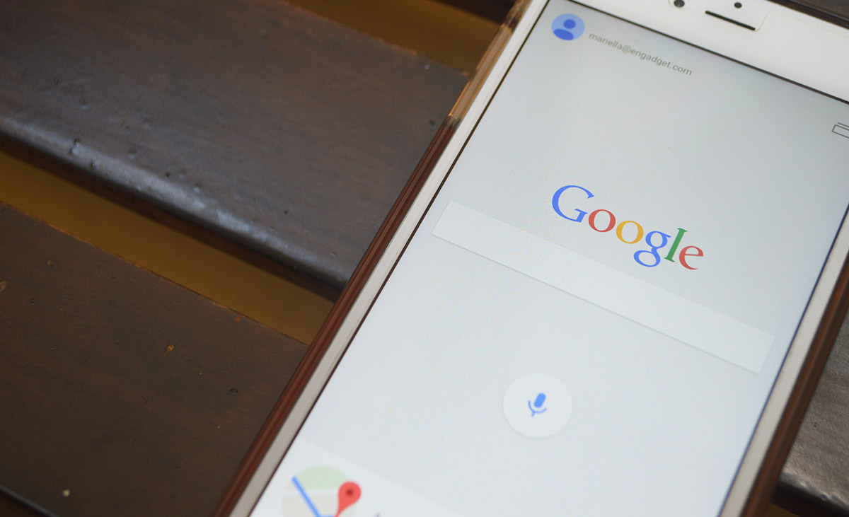 Google for iOS can play GIFs in search results, show maps in-app