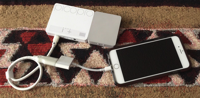 PicoPro: A laser projector about the size of an iPhone 6 Plus