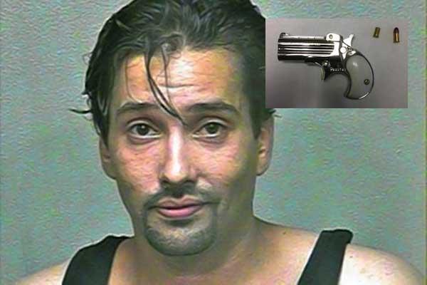 biggest objects smuggled up asses, biggest objects smuggled up butts, mark gregory valadez loaded derringer pistol