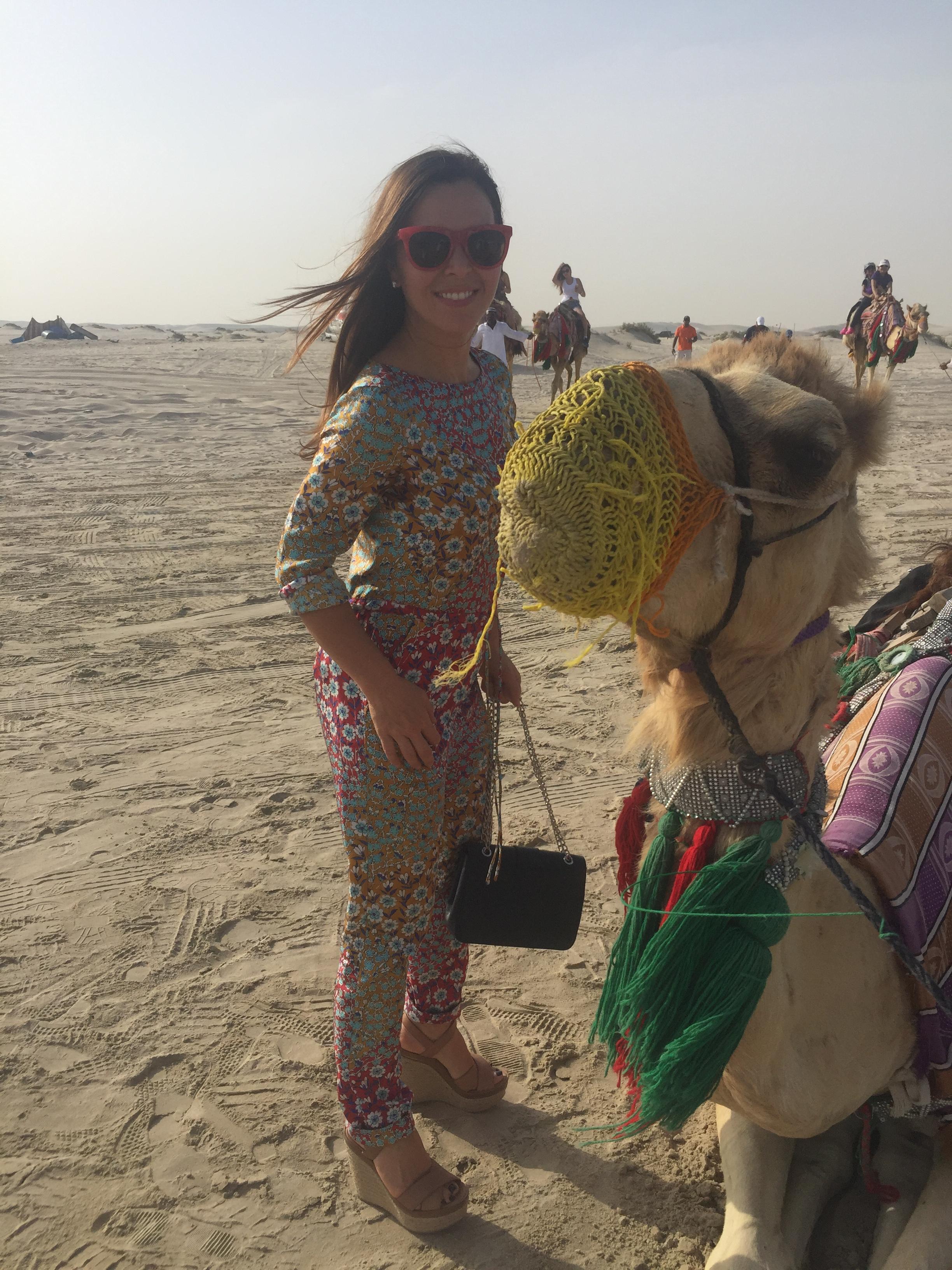 Monique Lhuillier travel diary: Made a friend!