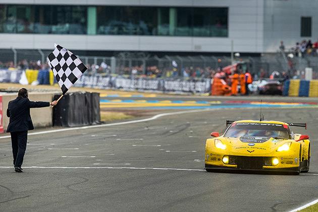 シボレー「コルベットC7.R」、ル・マン24時間耐久レースGTE Proで優勝