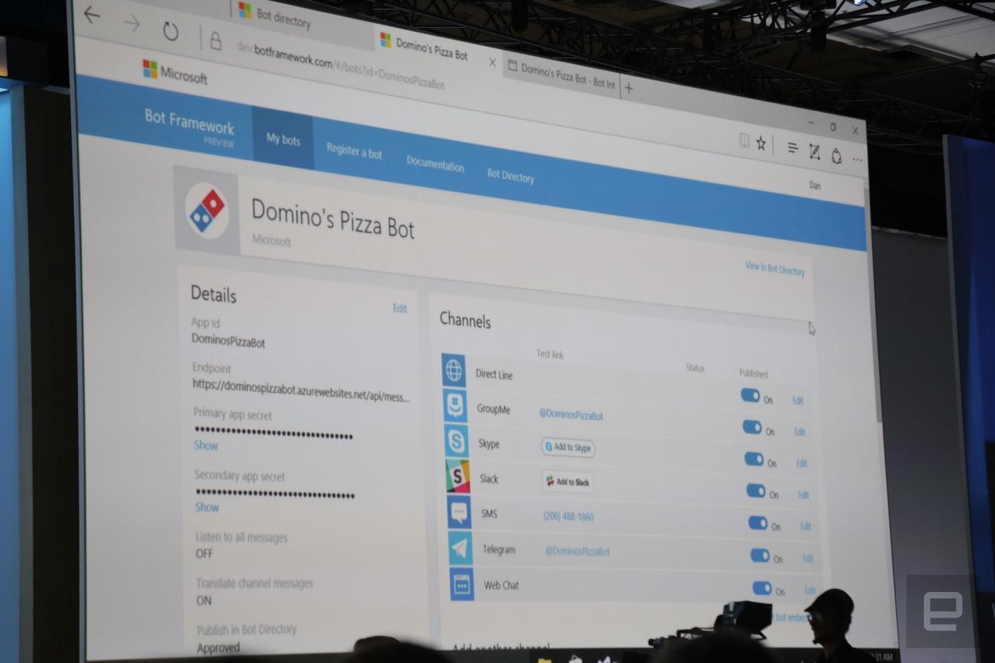 Domino's Pizzabot