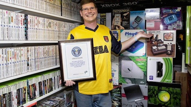 The world's largest video game collection just went up for auction