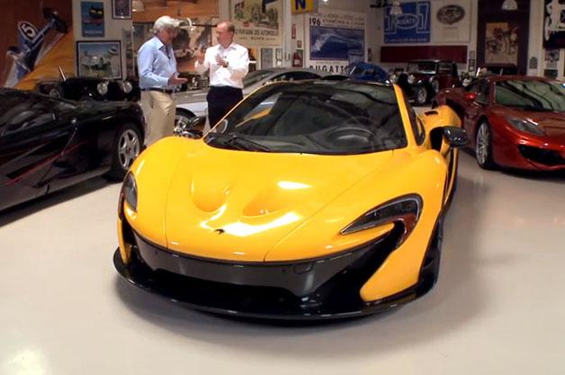 McLaren P1 in Jay Leno's Garage