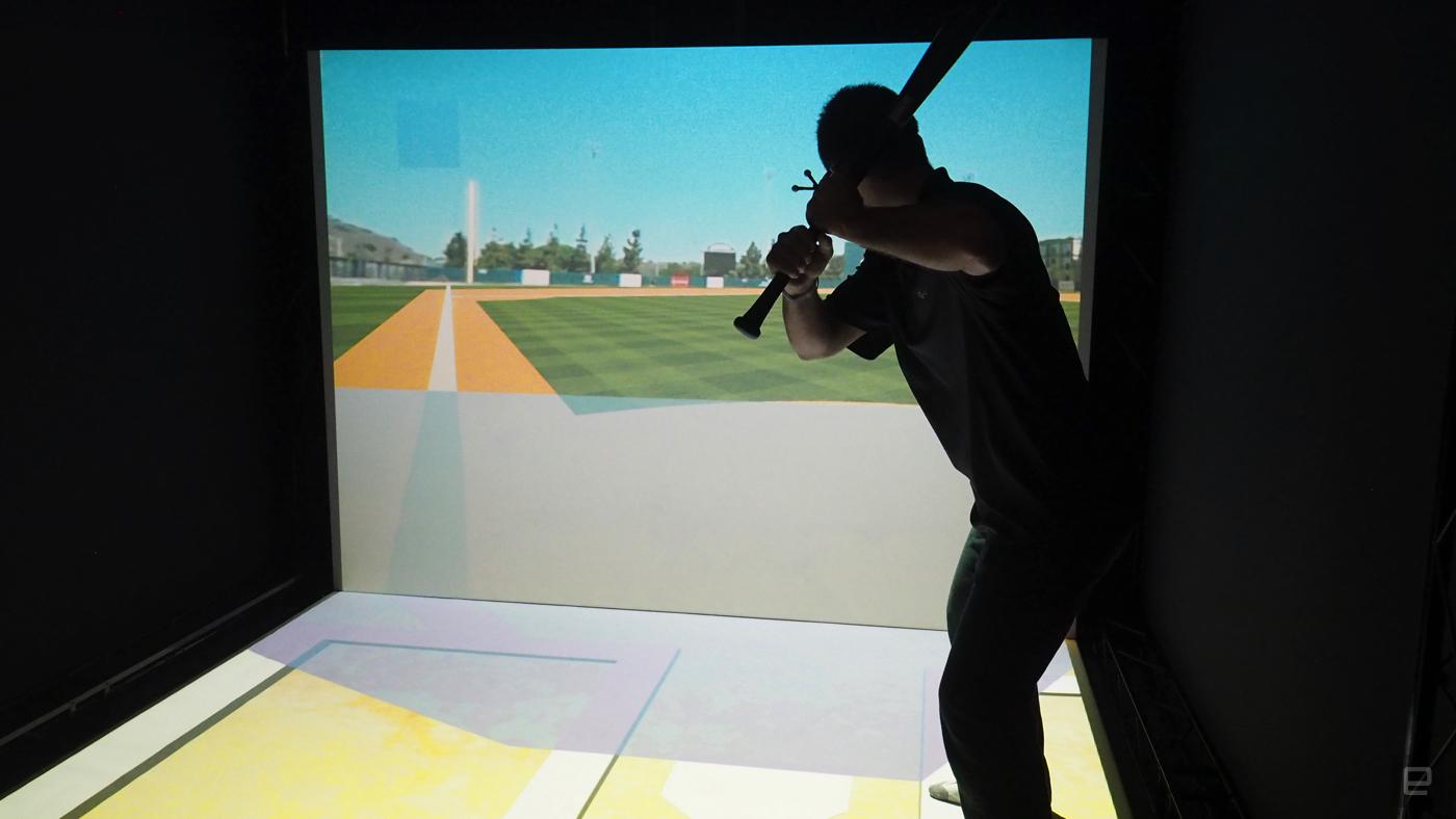 A virtual baseball simulator could change how hitters train