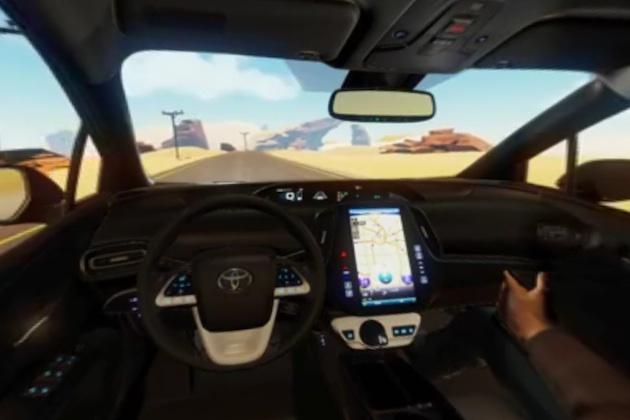 【ビデオ】シド・ミードがトヨタ「プリウス プライム」の仮想世界シミュレーターを制作!