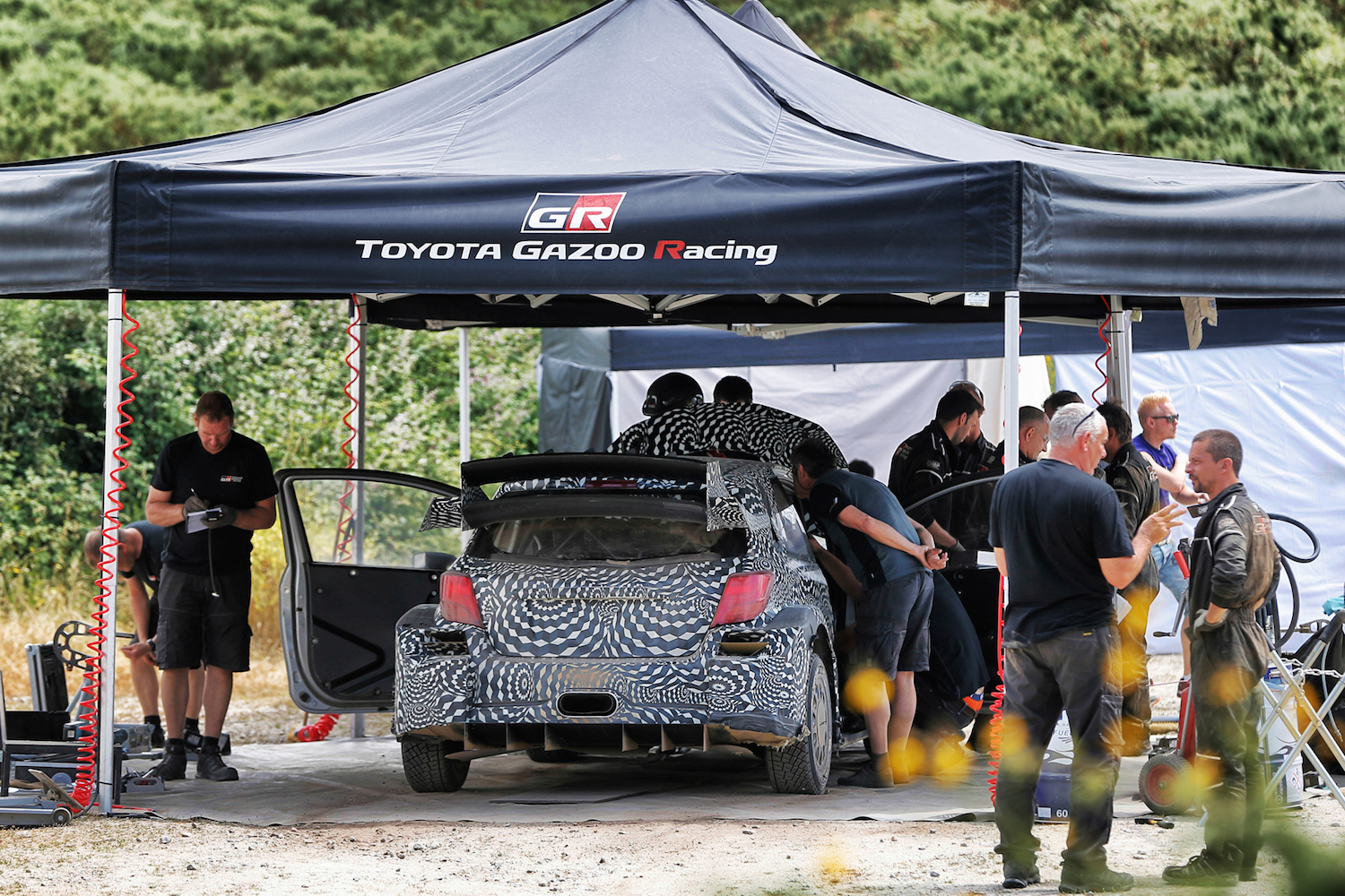 TOYOTA GAZOO Racing  Yaris WRC test