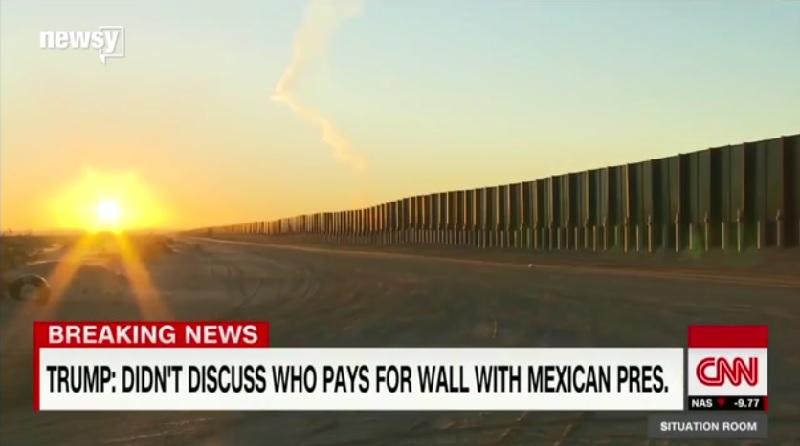 メキシコ国境の「壁」建設費、米国土安全保障省が賄えるのは約2兆4576億円のうち23億円のみ