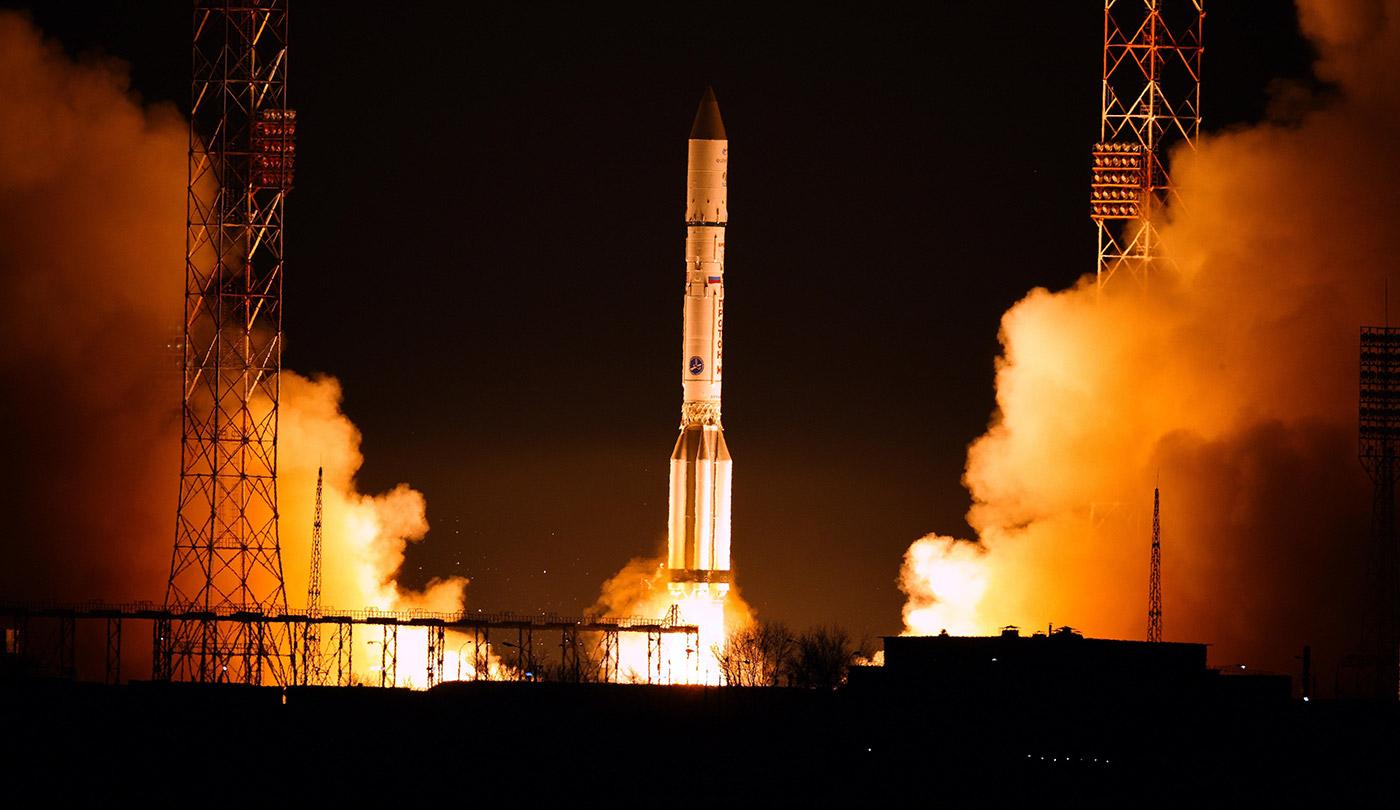European SpaceDataHighway's first satellite lifts off