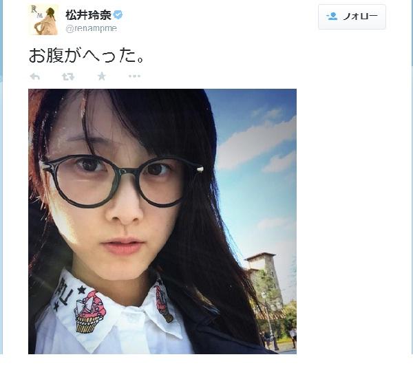 SKE48松井玲奈の私服が「ダサかわいい」と話題に 「文学少女 」「手塚治虫w」