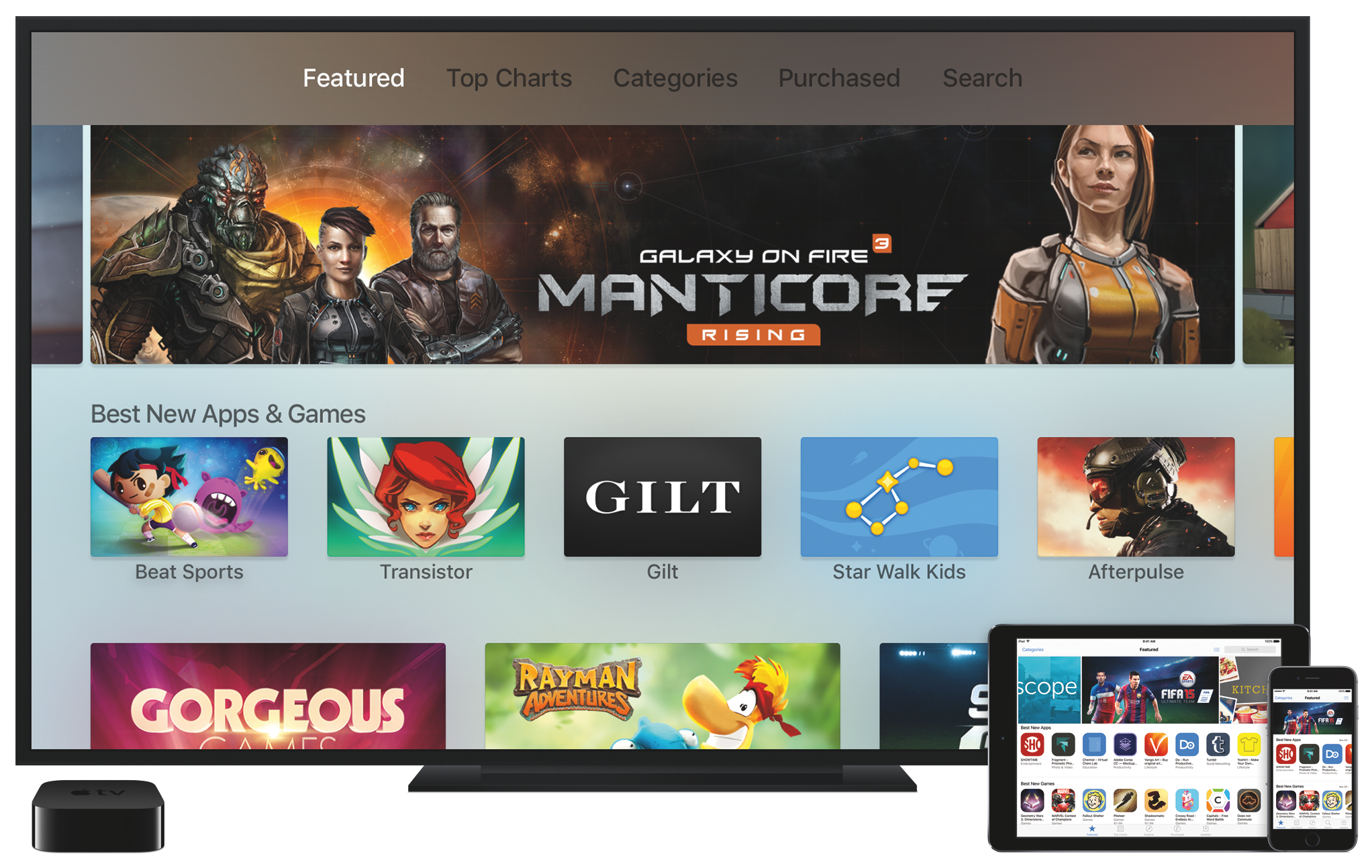 Apple now ranks the top Apple TV apps