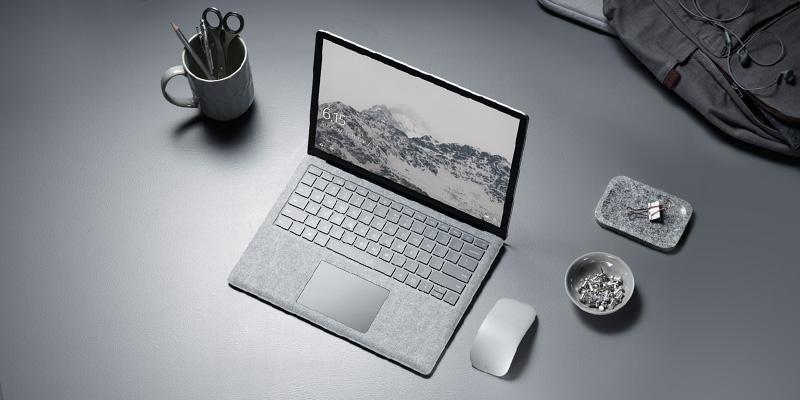 El teclado de Surface Laptop necesitará muchos mimos y cuidados