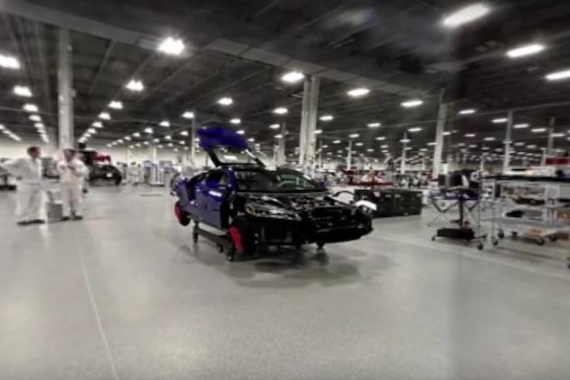 【ビデオ】ホンダの新型「NSX」が生産される工場内部を、360度動画でご紹介