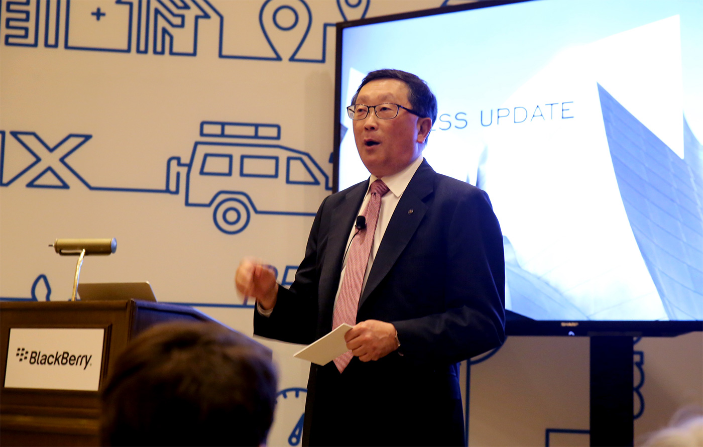 BlackBerry's building software to help power self-driving cars
