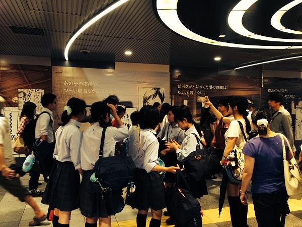 大人気マンガ『ハイキュー!!』の渋谷ジャックが「感動した」「青春すぎる」と話題沸騰