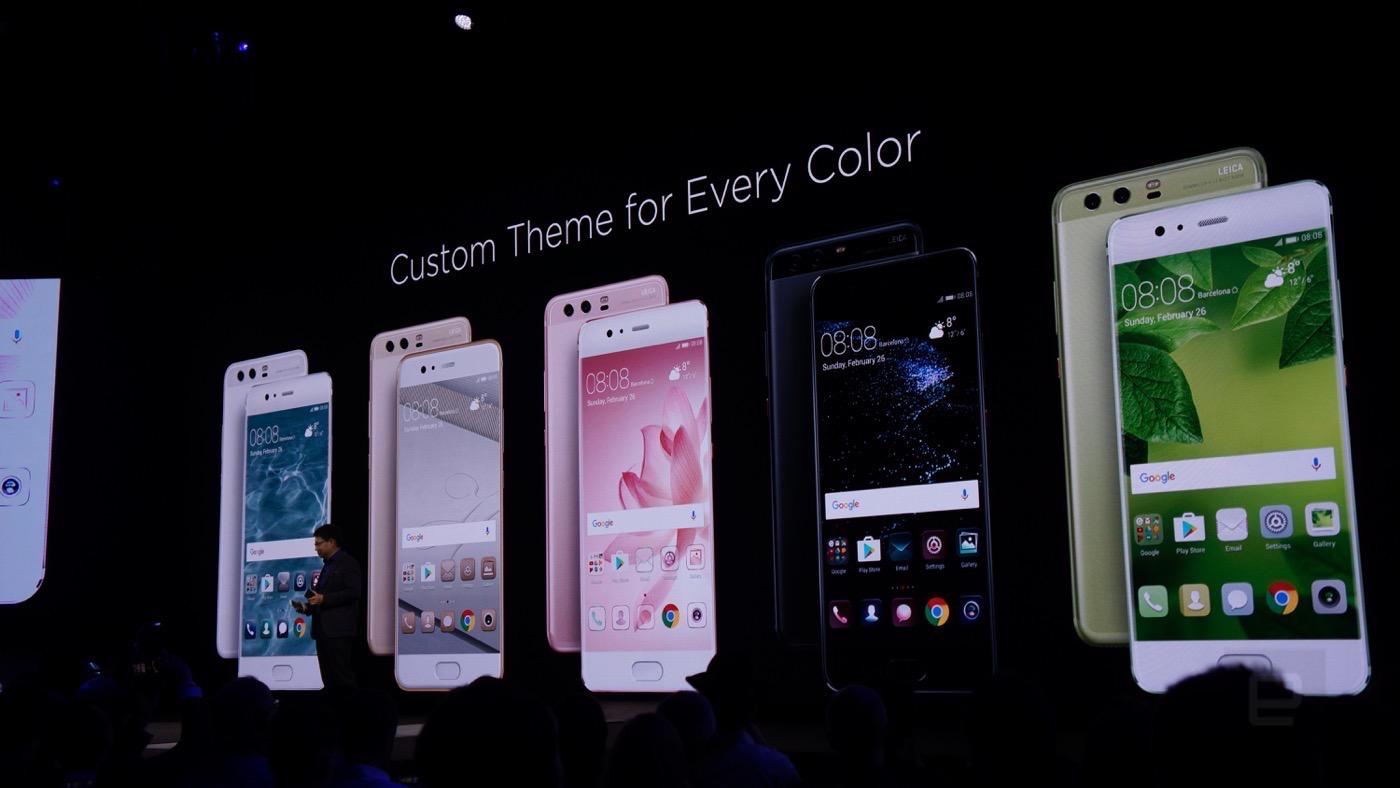 El nuevo Huawei P10 llega con potencia a todo color