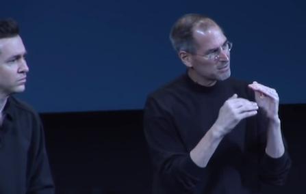 Steve Jobs Scott Forstall SDK