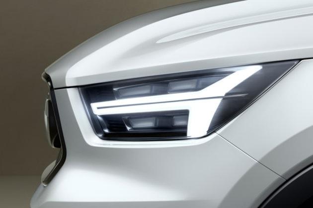 ボルボ、新型コンセプトカーのティーザー画像を公開 これが噂の「XC40」?