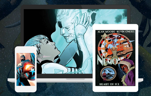 Read thousands of comic books with a Scribd subscription
