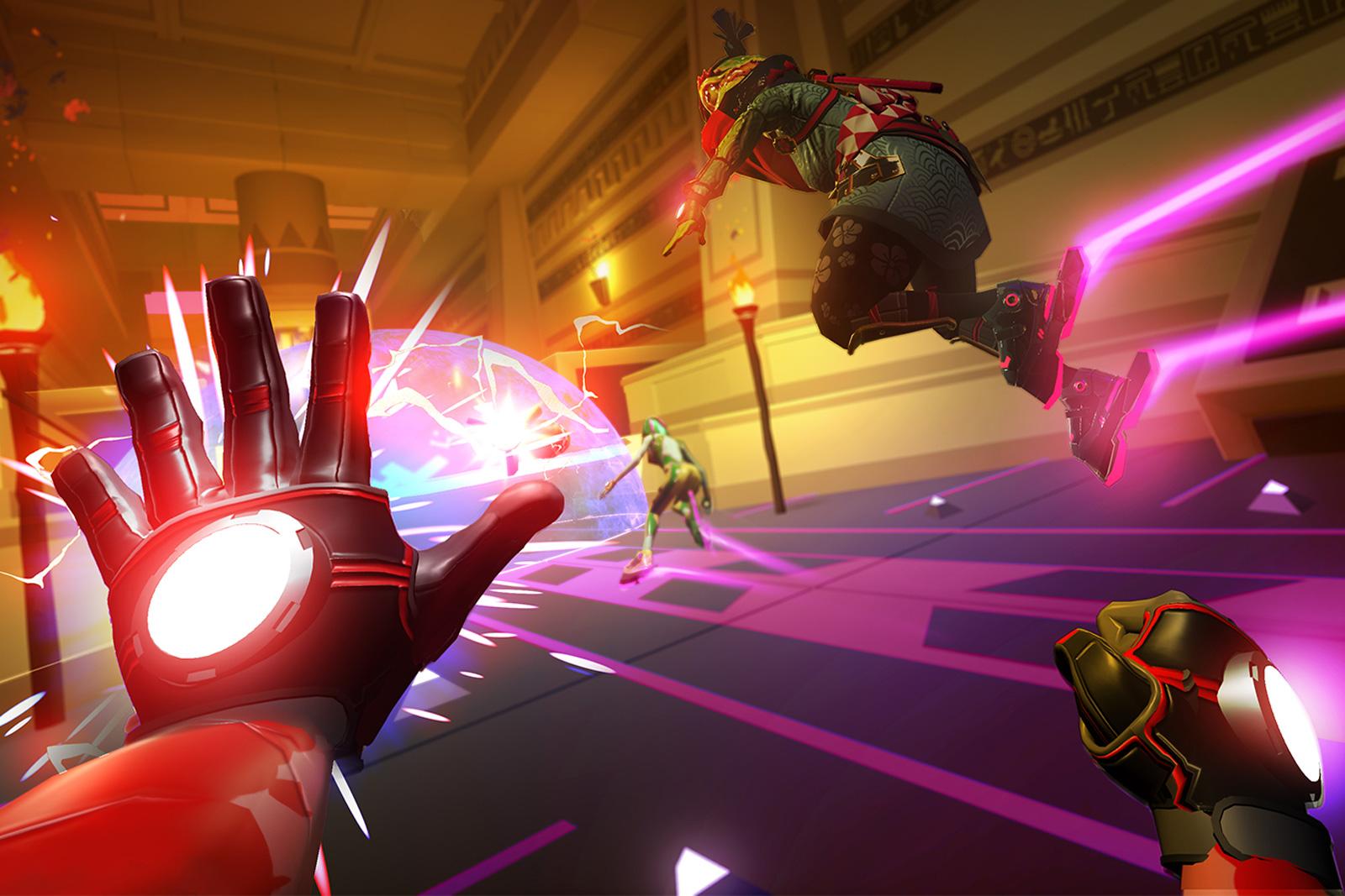 'Sprint Vector' brings VR foot racing to PlayStation 4