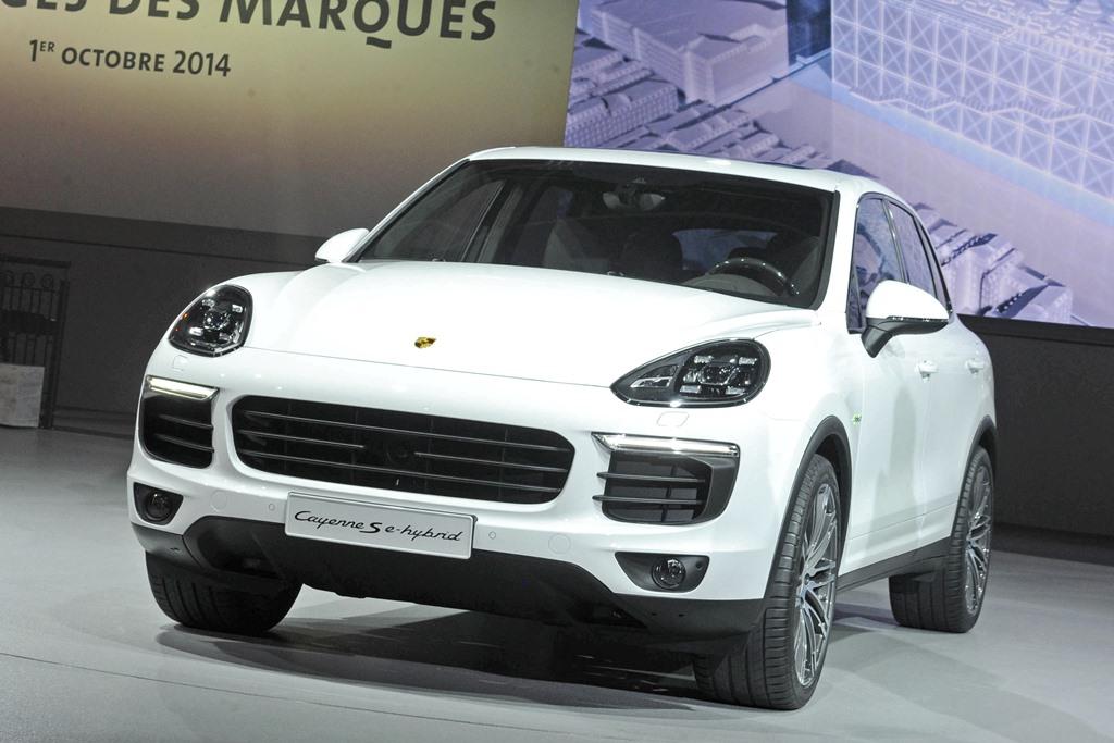 Porsche, Porsche Cayenne S E-Hybrid. Porsche Cayenne Plug-in-Hybrid, Auto salon Paris, Pariser Auto salon, Premiere, offiziell, revealed