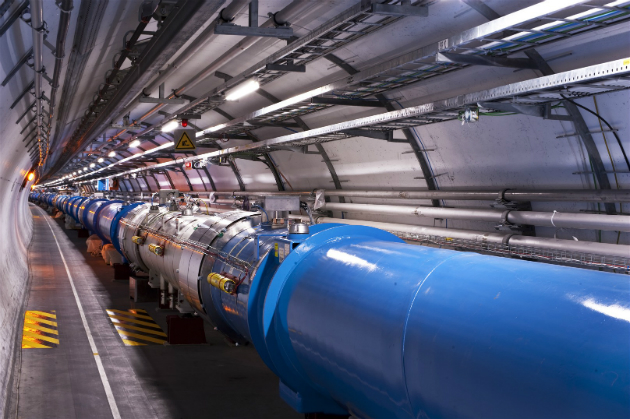 The Large Hadron Collider is smashing protons together again