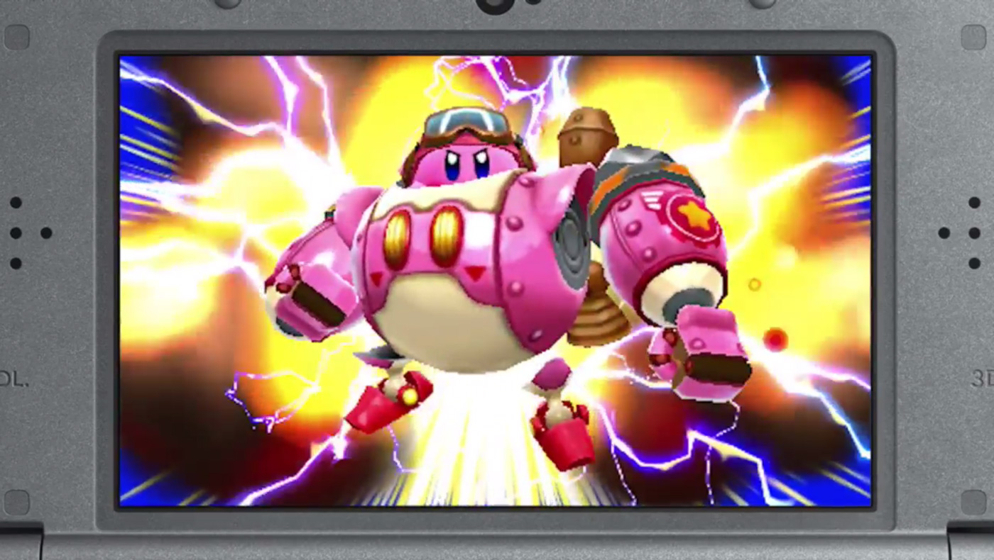 'Kirby' returns to your hands in June with 'Planet Robobot'