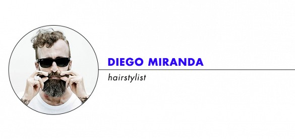 Diego Miranda hairstylist