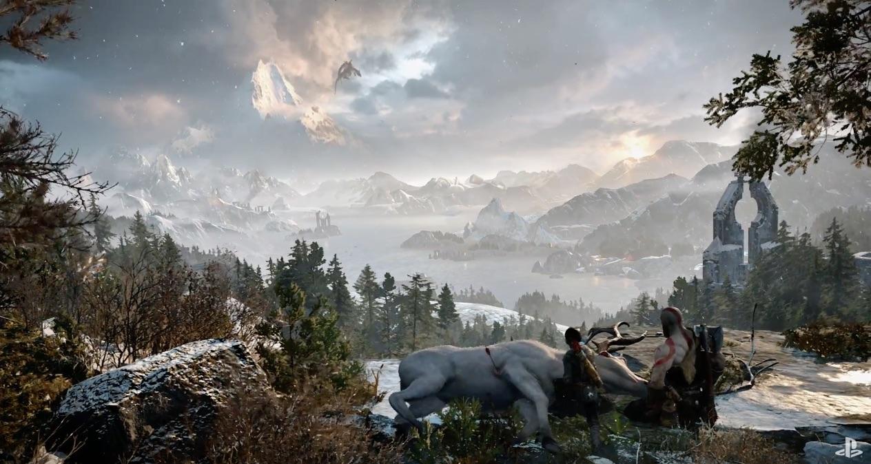 God of War llega a PS4 en modo Dios