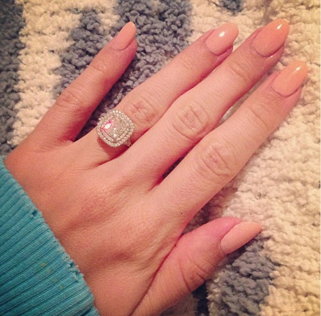 Nails Just Look Better With A Diamond Ring On Your Finger: Brides-To-Be Seeking 'Hand Lift' Surgery To Perfect The