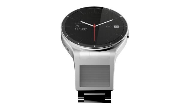 Lenovo's 'Magic View' smartwatch concept hides a private display