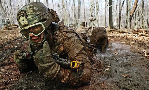 muddy dog photoshop treatment, psbattle reddit, muddy dog army guy