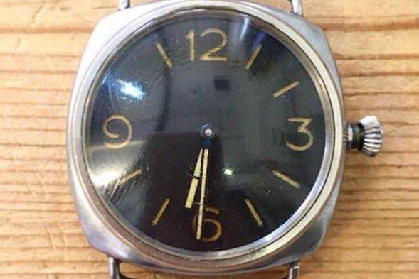 The Rolex watch.