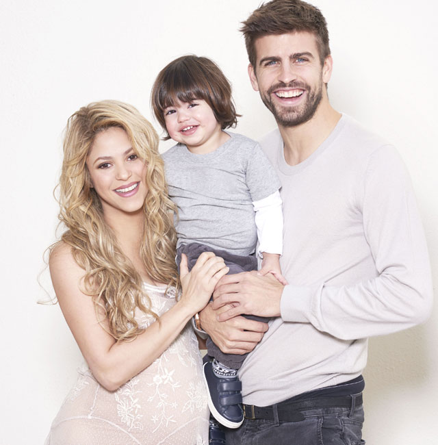 Pregnant Shakira shares baby shower photos for Unicef campaign