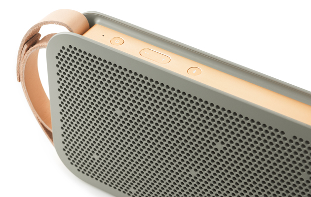 B&O Play made a portable Bluetooth speaker, no, we're not kidding