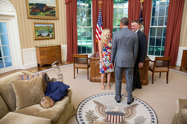 face plant President Obama white house