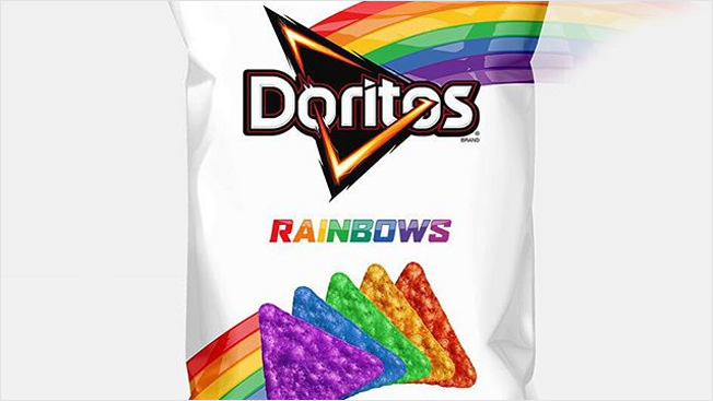 Multi-Colored Doritos Released Mountain Dew Png
