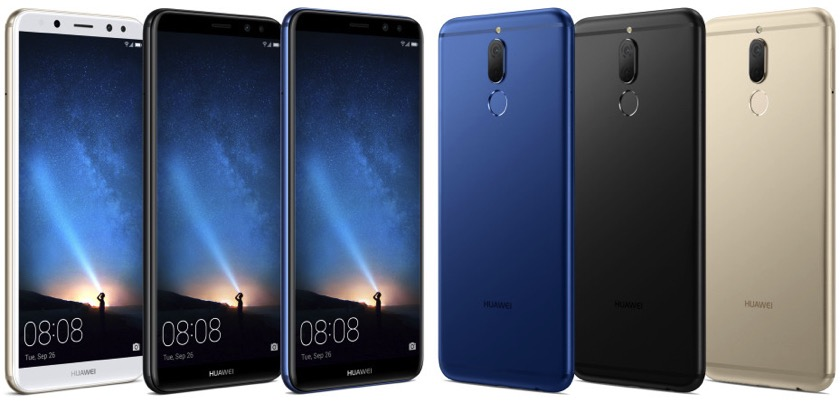 Hier ist das Huawei Mate 10 Lite