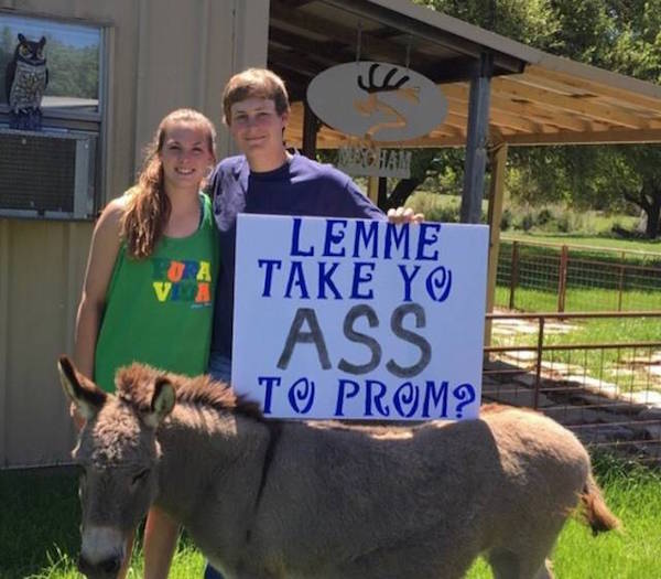 Is This The Best Prom Invite Ever?