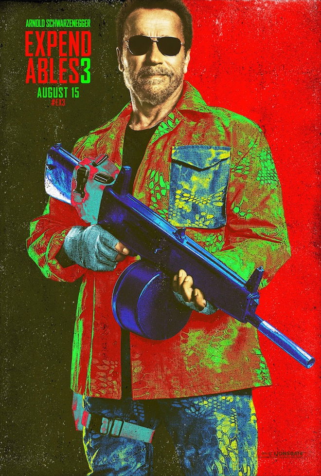 expendables 3 comic-con poster