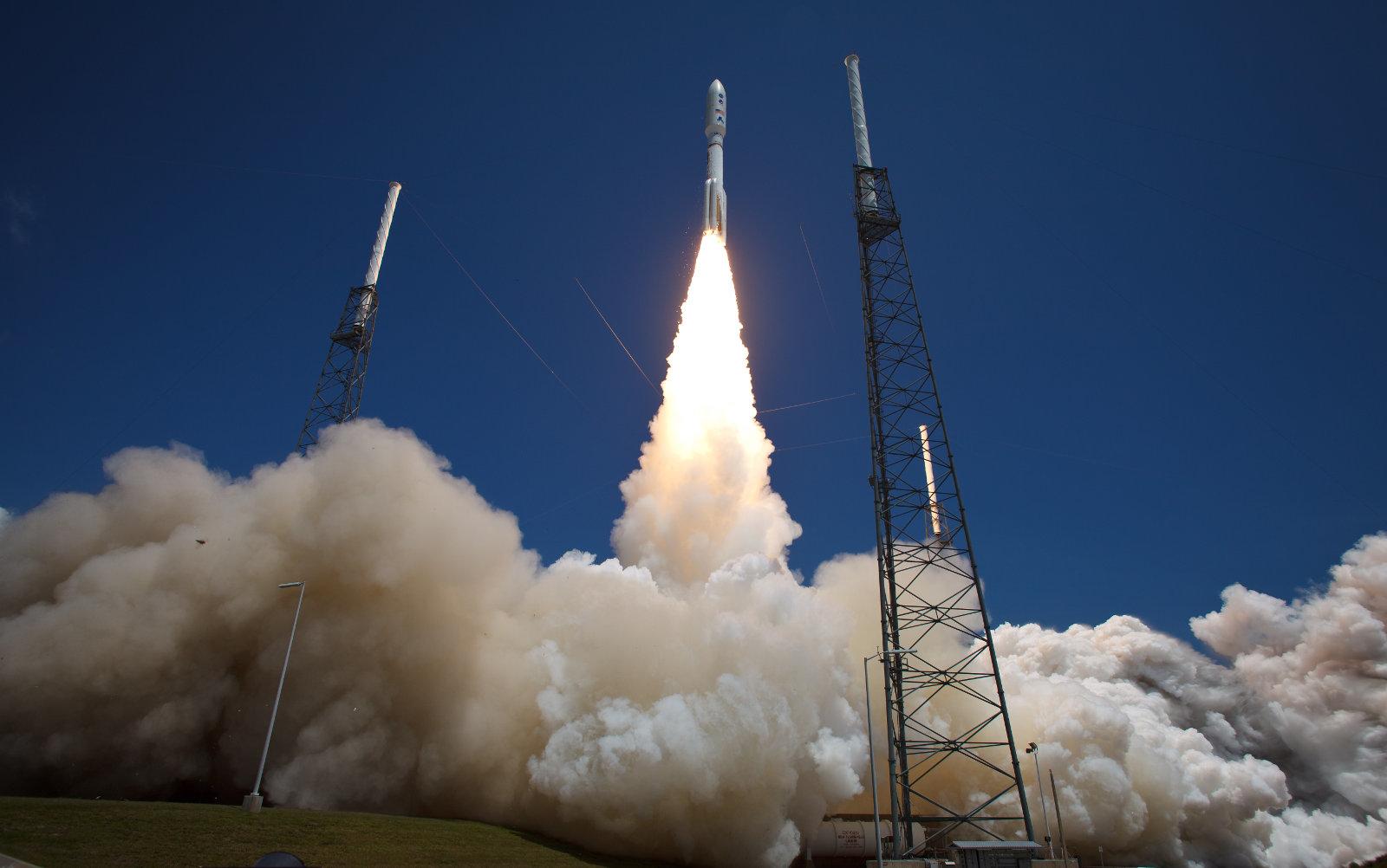 Heute Nachmittag: NASA zeigt Raketenstart als 360-Grad-Stream