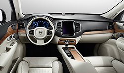 Dashboard of 2015 Volvo XC90