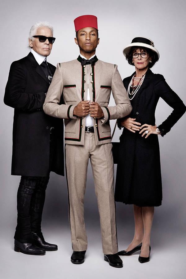 Pharrell Williams Chanel