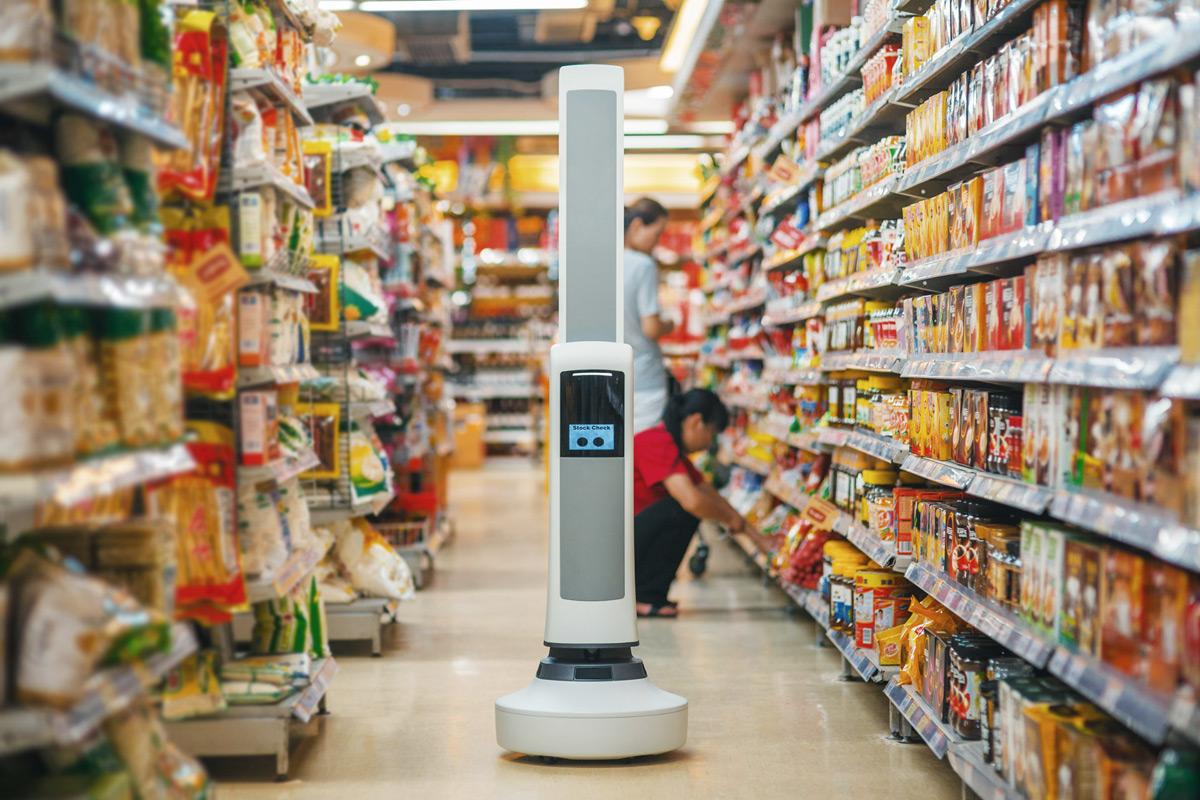 Simbe Robotics' Tally robot