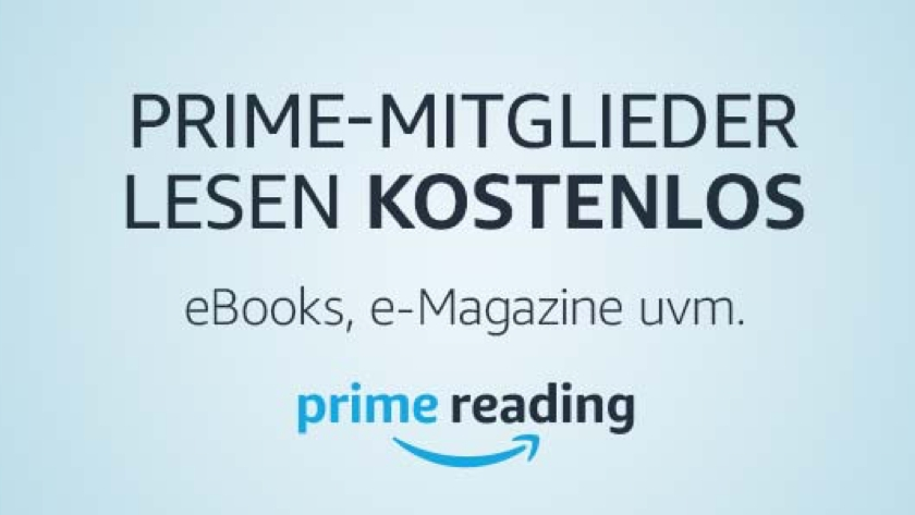 Amazon Prime Reading startet in Deutschland