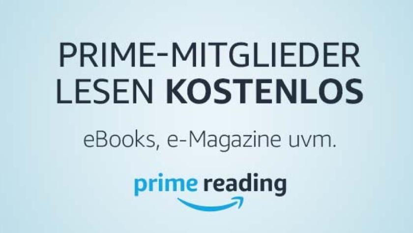 Amazon Prime Reading: kostenlose Kindle eBooks, Magazine, Kurzgeschichten, Comics, Kinderbücher und mehr