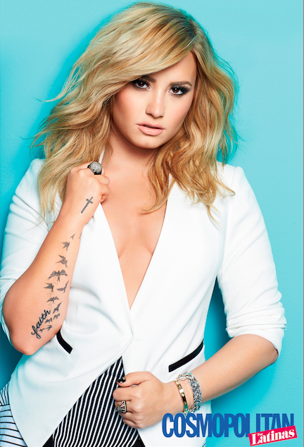 Demi Lovato Cosmo for Latinas